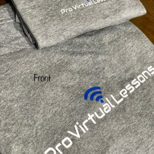 Pro Virtual Lessons shirts (light grey)