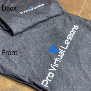 Pro Virtual Lessons shirts (dark grey)